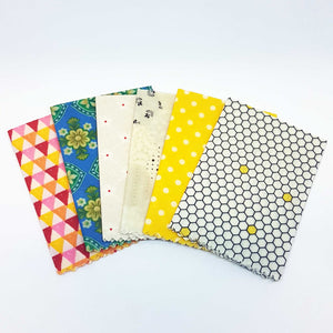 Beeswax Food Wraps -5 pack