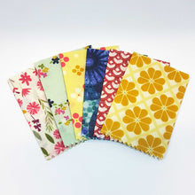 Load image into Gallery viewer, Beeswax Food Wraps -5 pack