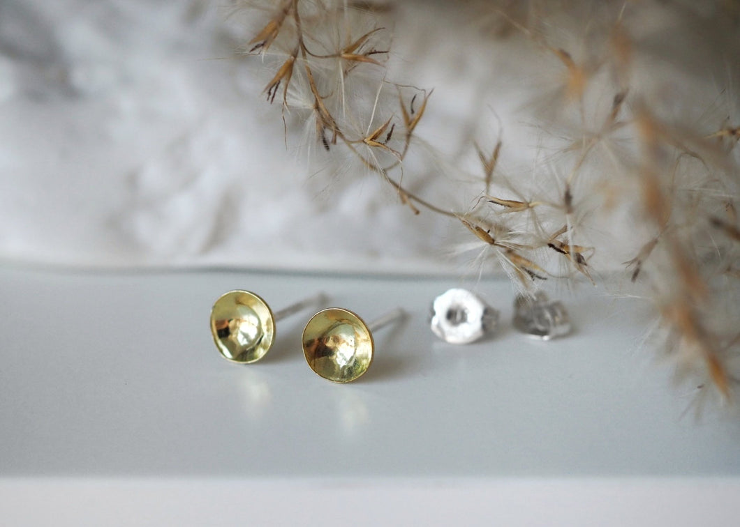 Earrings - Concave Circles
