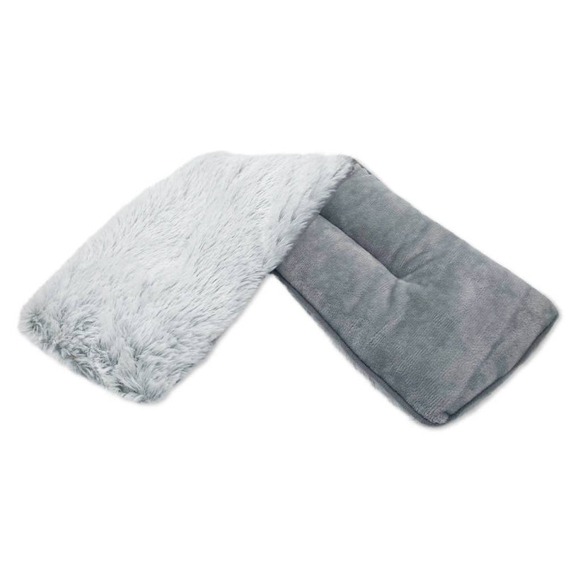 Warmies Plush Neck Wrap - Marshmallow Gray