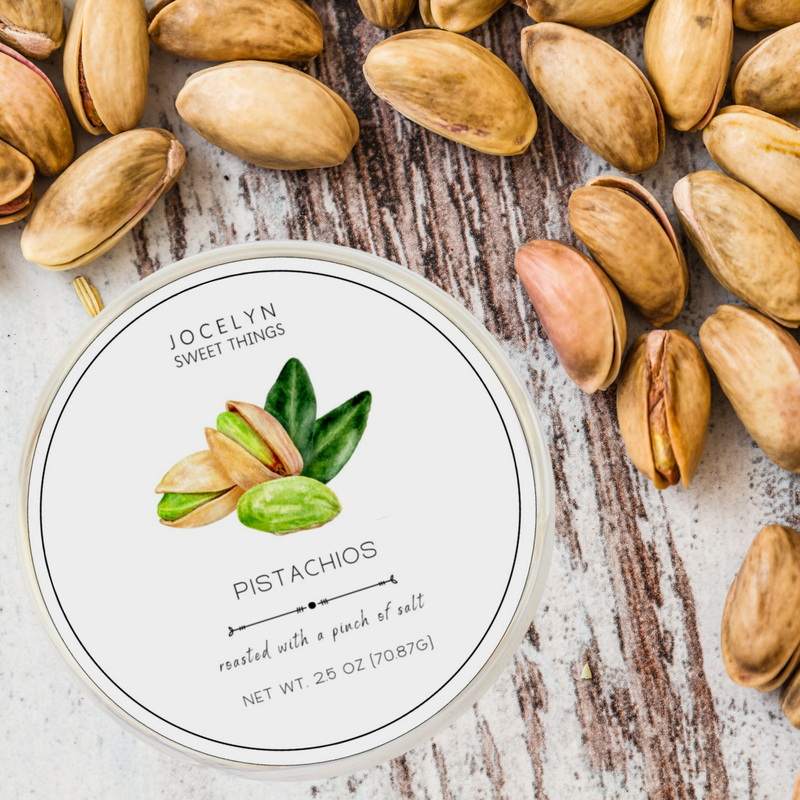 Jocelyn and Co Roasted & Salted Pistachios
