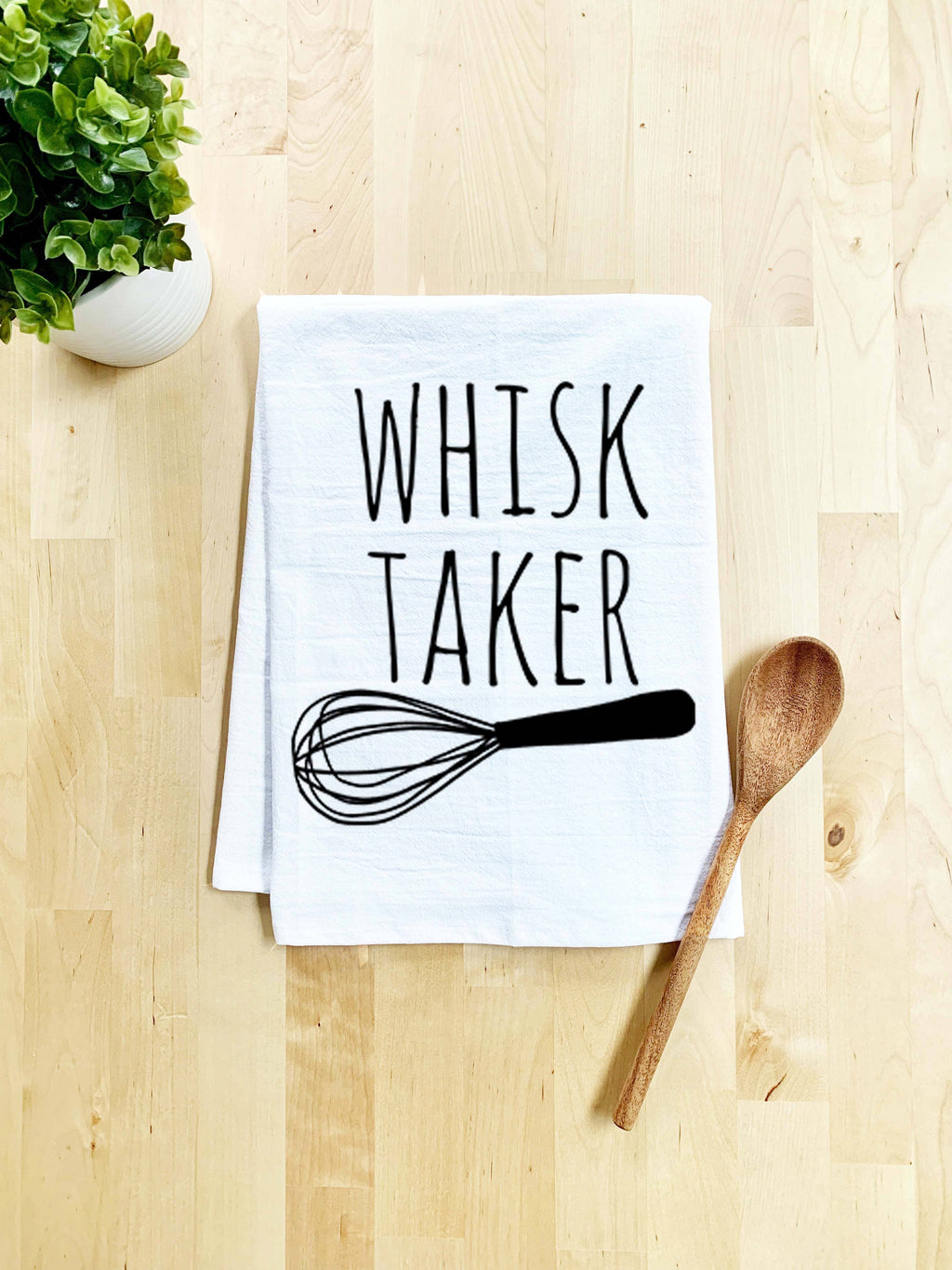Whisk Taker Dish Towel