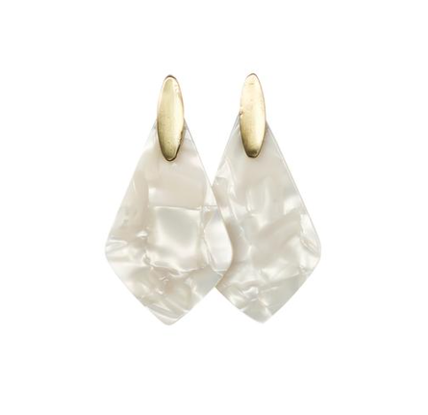 Michelle McDowell Paris Earrings - Pearl