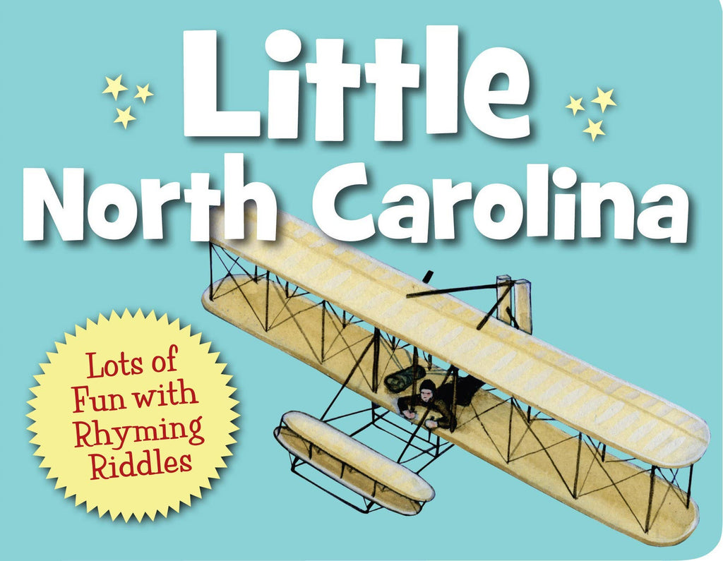 Sleeping Bear Press Little North Carolina Toddler Board Book