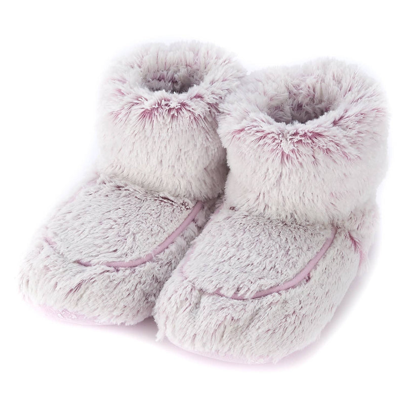 Warmies Plush Boots - Marshmallow Pink