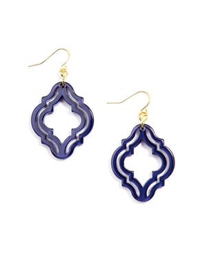 Zenzii Imperial Lattice Earrings