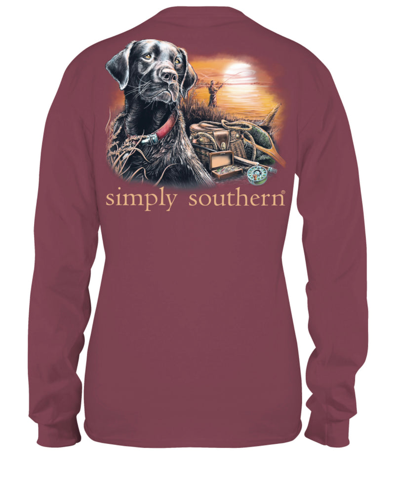 Simply Southern Lake Long Sleeve Tee - Youth and Adult Sizes