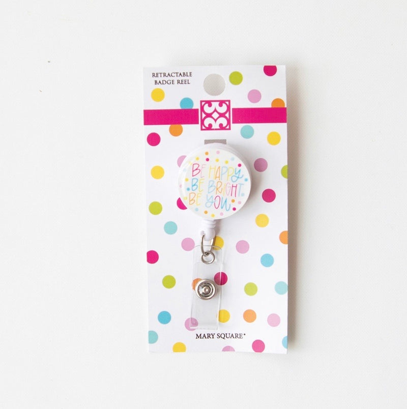 All She Wrote Notes Be Happy Be Bright Be You Badge Reel