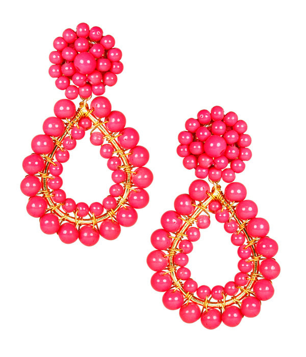 Lisi Lerch Margo Earrings - Miss Pink