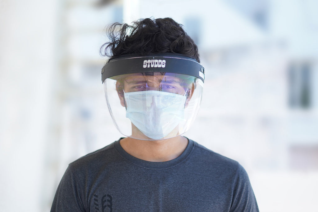 Premium Face Shield by STUDDS