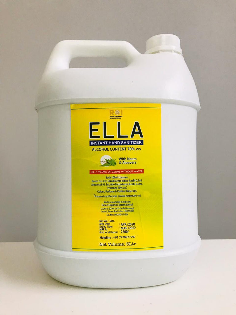 ELLA Hand Sanitizer GEL - 5L