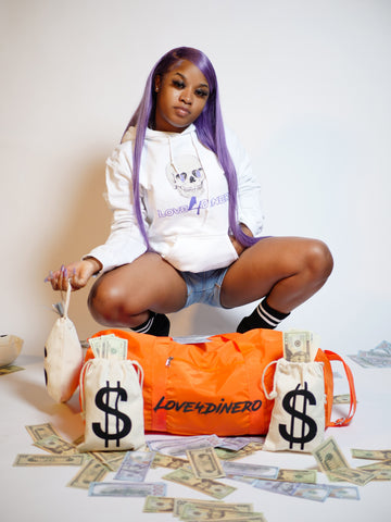 Money 2 The Grave Purple Hoodie