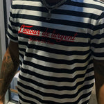 French LOVE4Dinero Striped Shirt