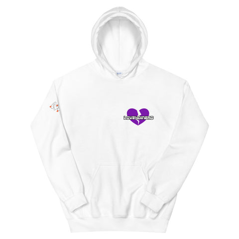 Fell For Dinero Hoodie (Purple Heart)