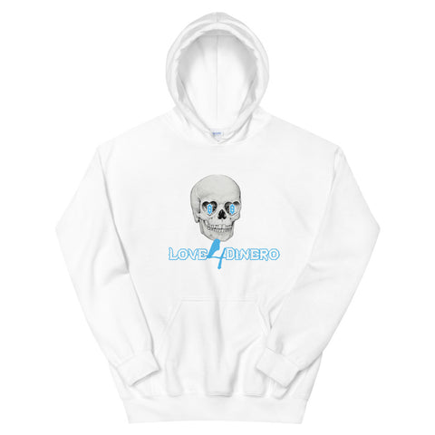 Money 2 The Grave  UNC Blue Hoodie