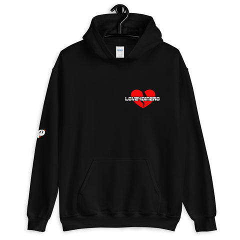 Fell For Dinero Hoodie (Red Heart)