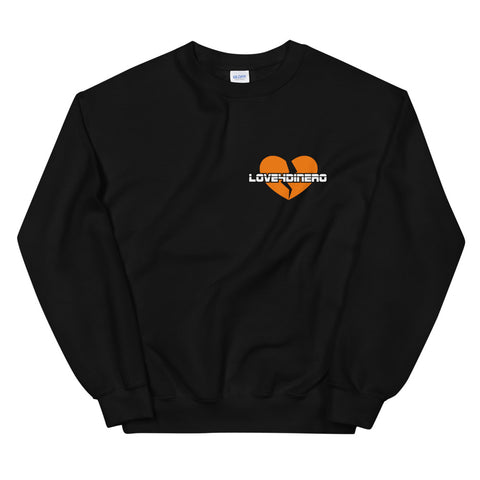 Fell For Dinero Sweater (Orange Heart)