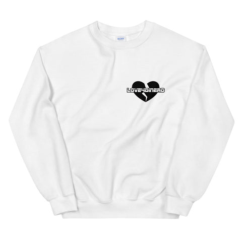 Fell For Dinero Sweatshirt (Black Heart)