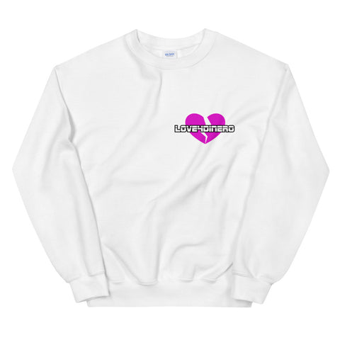 Fell For Dinero Sweatshirt (Pink Heart)