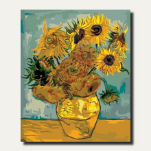 Load image into Gallery viewer, Sunflowers by Van Gogh