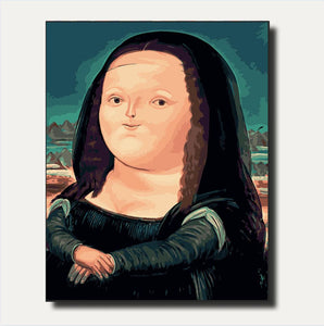 Cartoon Mona Lisa