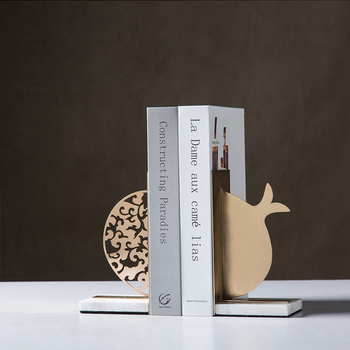 Prosperous Pomegranate Series Bookend