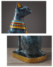 Load image into Gallery viewer, Vintage Egyptian Cat Table Ornaments