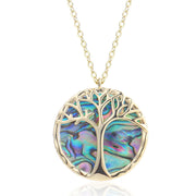 2020 new fashion the tree of life abalone shell necklace,Owl necklace