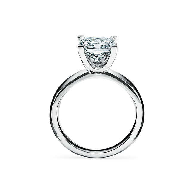 Princess-cut 925 sterling silver Engagement Ring
