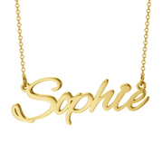 "Personalized Name Necklace Custom Jewelry Sophie Adjustable 16""-20"""