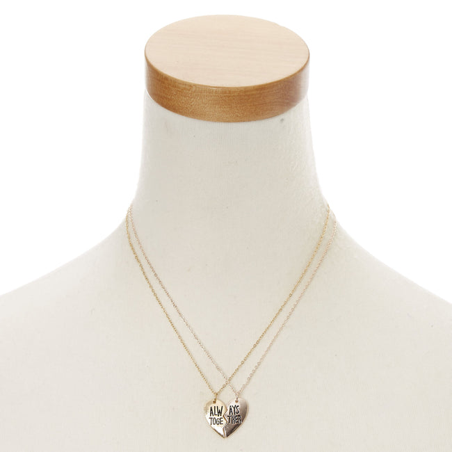Best Friends Gold Always Together Necklace Set