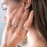 925 Silver Initial Ring Stackable Rings for Women | Fashion Rings