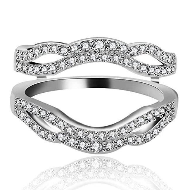 Girls Wedding Engagement Enhancer Ring Ring Guards