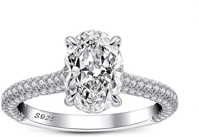 Romanticwork engagement ring / wedding ring