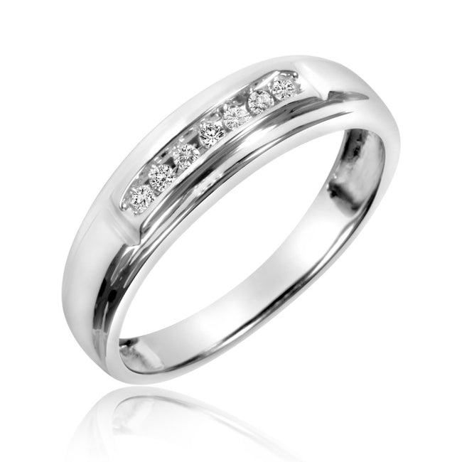 925 Sterling Silver Boundless Bridal Wedding Ring Set