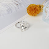 Faith over fear ring&Be Still ring&Have Faith ring&Trust Gods Plan ring&Trust in God Inspirational Ring for gift for friends