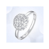 14K Gold Dandelion Engagement Rings for Women