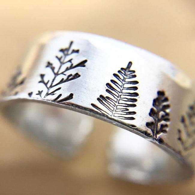 925 Sterling Silver Rings For Women Mountain Ring Thumb Rings For Women Pine Tree Ring Silver Jewelry Tree Ring Nature Jewelry Inspirational Ring