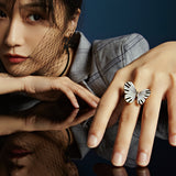 Piano Butterfly Ring