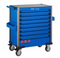 Blue 8-drawer jumbo trolley with 298pcs tools (EVA)