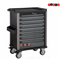 Black 8-drawer trolley with 315pc tools (EVA)