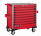 Red 8-drawer jumbo trolley with 531pcs tools (EVA)