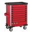 Red 8-drawer trolley with 193pc tools (EVA)