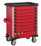 Red 8-drawer trolley with 325pc tools (S&M)