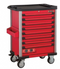 Red 8-drawer trolley with 405pc tools (EVA)