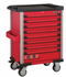 Red 8-drawer trolley with 512pc tools (EVA)