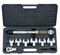 8pc Head-interchangeable torque wrench & spanner set