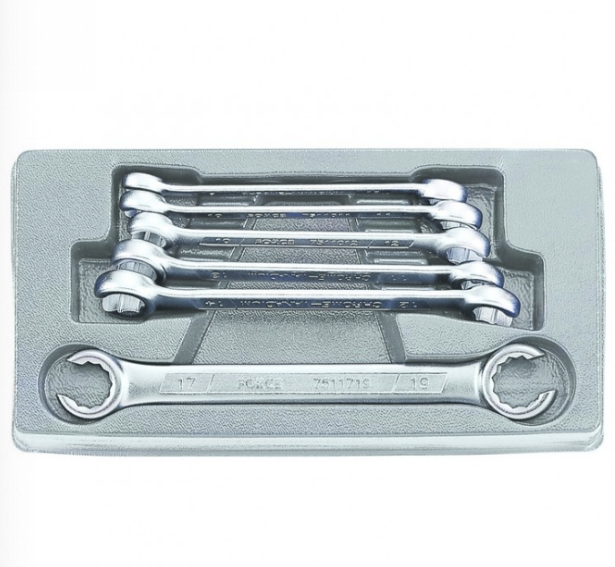 6pc Flare nut wrench set