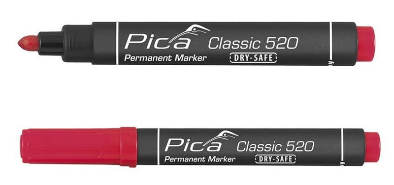 10ST 520/41 PERMANENT MARKER 1-4MM ROND
