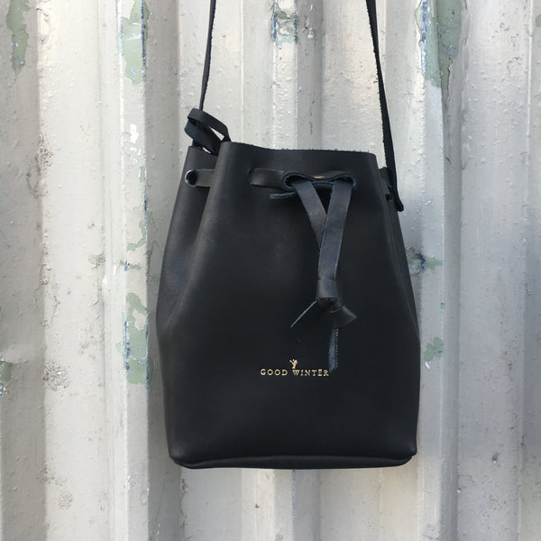 GW3 Bucket Bag Large Black